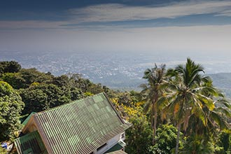View from Wat Phra That Doi Suthep, Chiang Mai, Thailand
